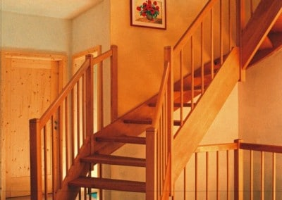 Grazil wirkende Treppe