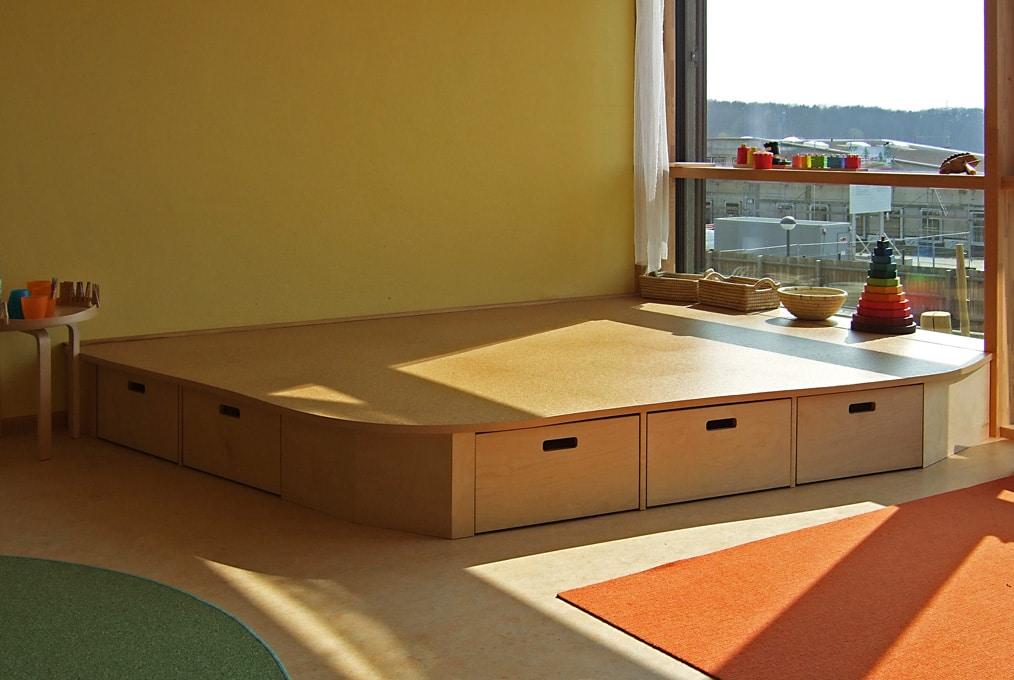 Schreinerei astrein | KiTa-Einrichtung aus Holz