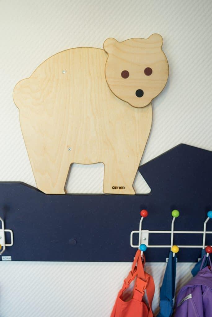 "KiTa-Garderobe ""Eisbär"""