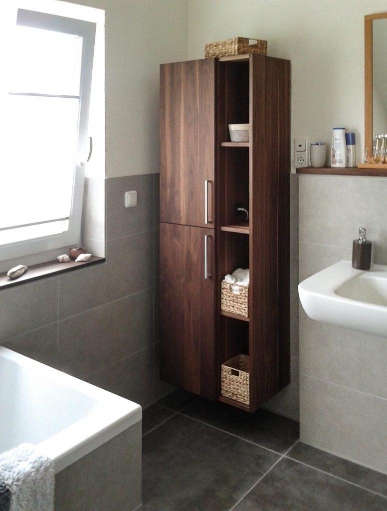 Badezimmer-Hängeregal