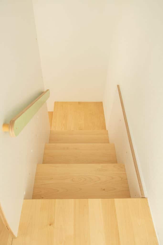 Treppe Spielebene